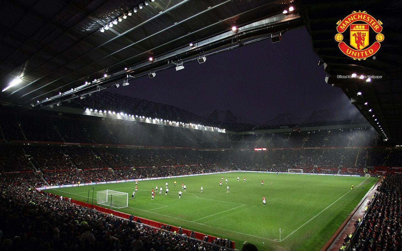 Man United's Old Trafford Stadium HD Wallpapers For PC