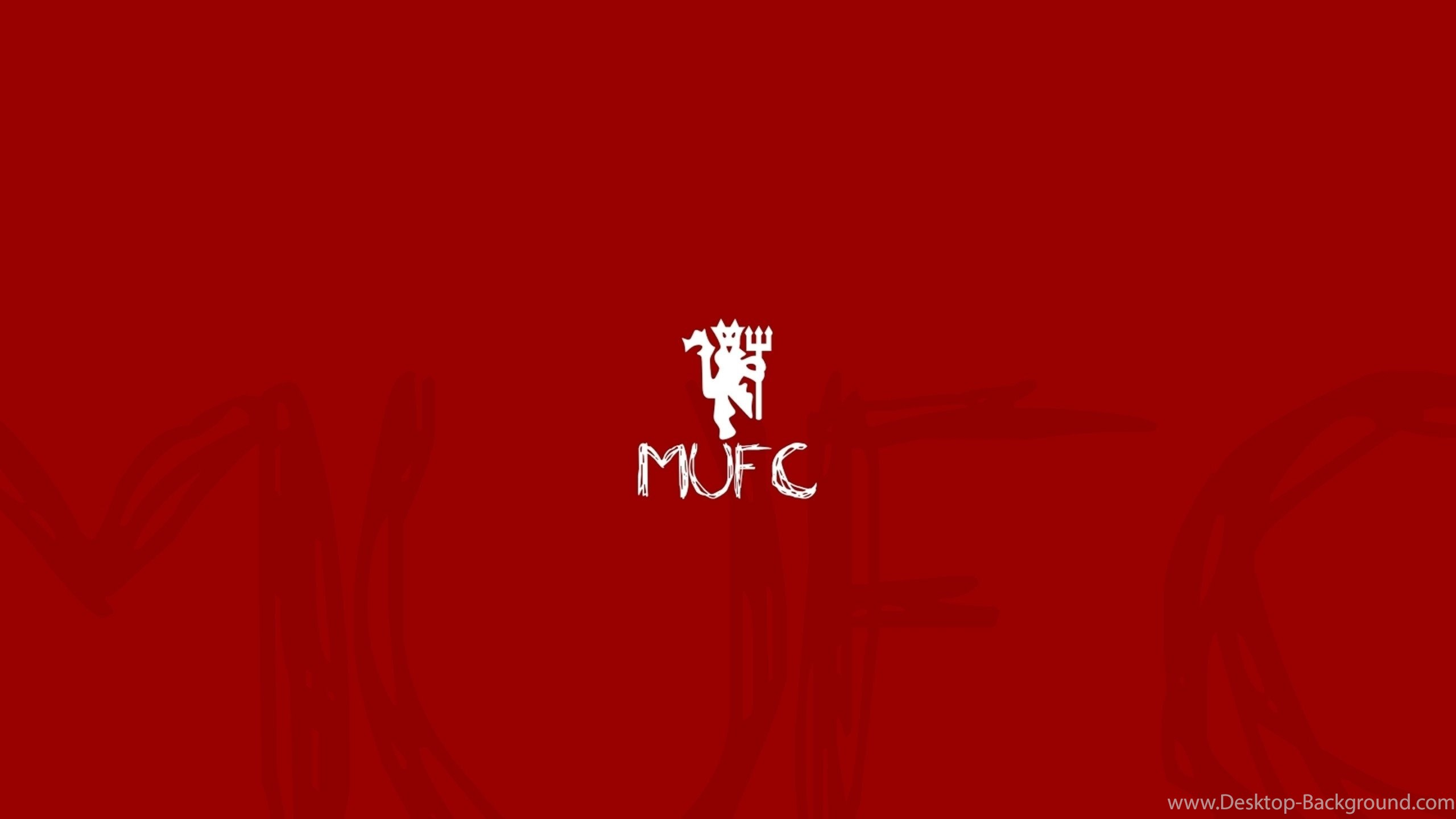 Man Utd Hd Logo Wallapapers For Desktop 2019 Collection