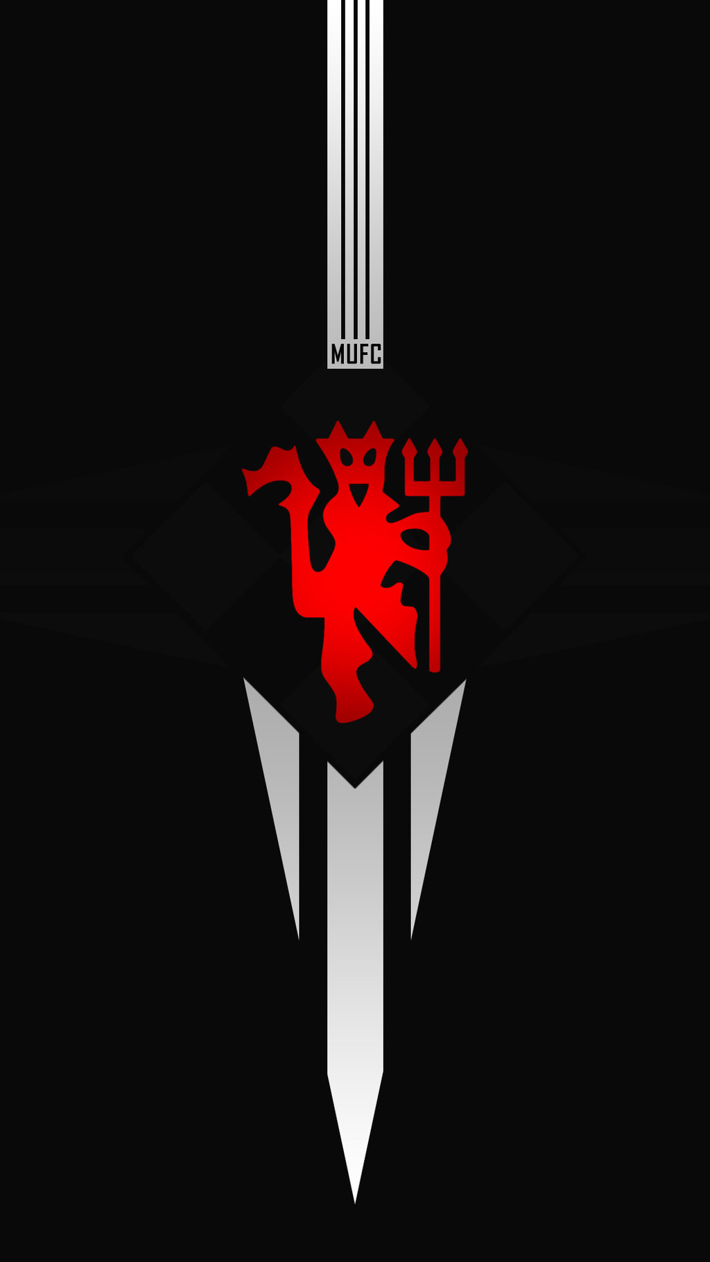 Man United Hd Logo Wallpapers For Iphone And Android Mobiles