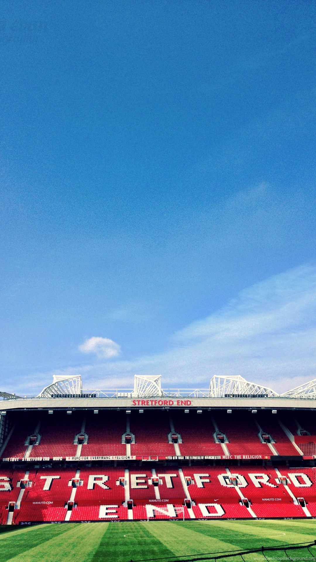 Man United S Old Trafford Stadium Hd Wallpapers For Mobile Free Download