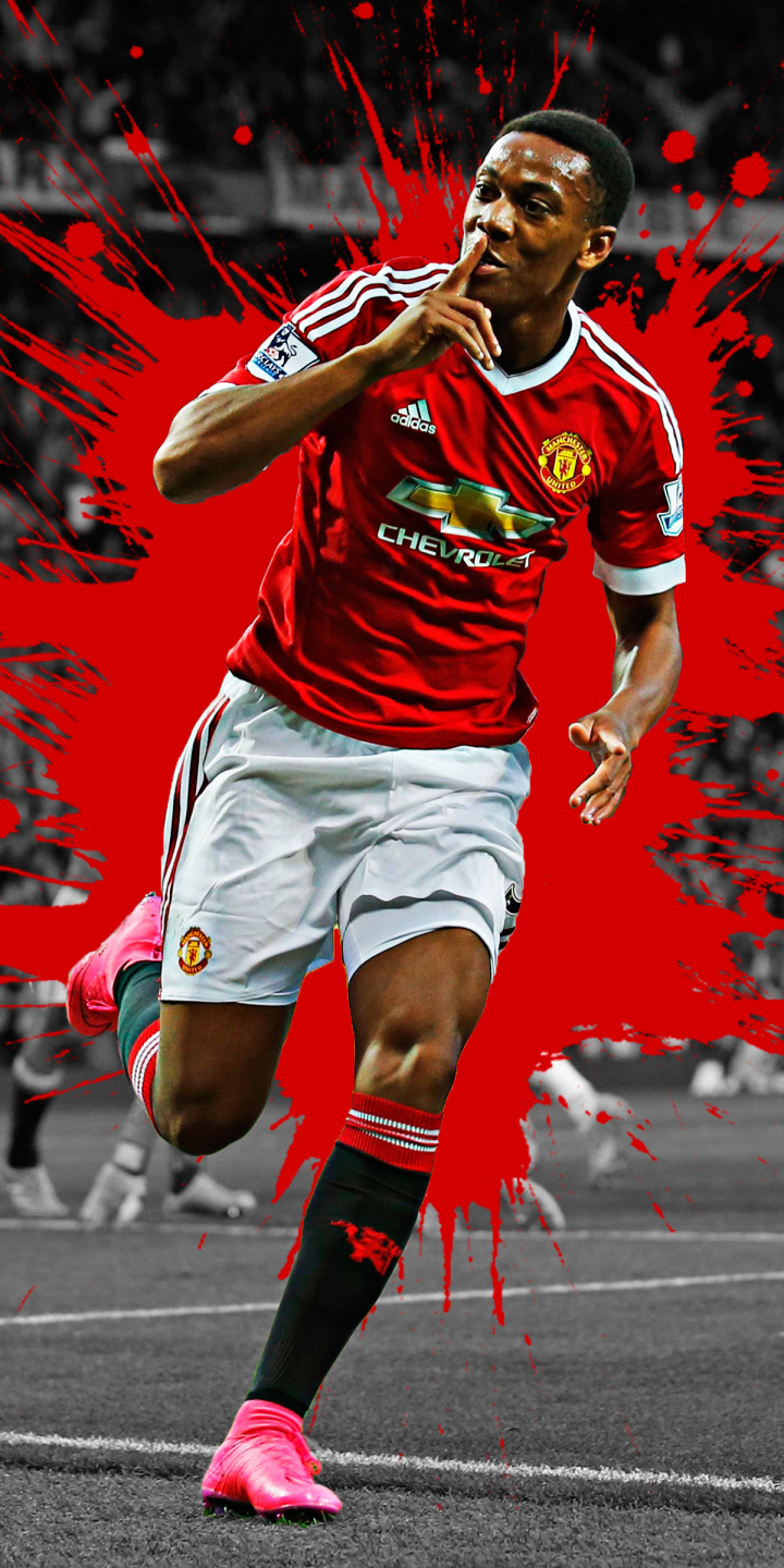 Anthony Martial Hd Mobile Wallpapers At Manchester United Man Utd Core