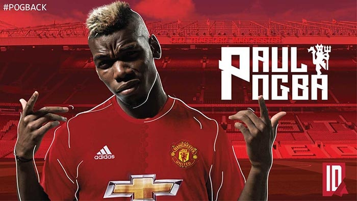 Paul Pogba HD Desktop Wallpapers At Manchester United
