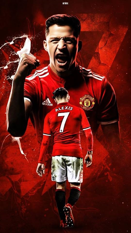 Alexis Sanchez Hd Mobile Wallpapers At Manchester United