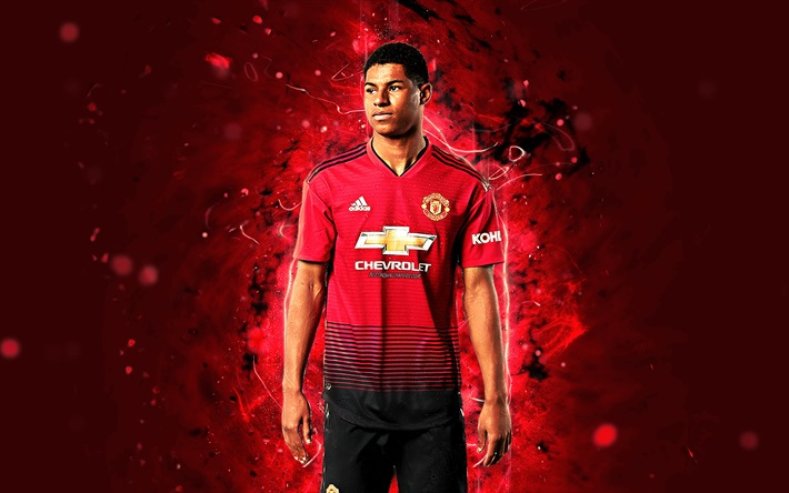 Marcus Rashford Hd Desktop Wallpapers At Manchester United Man Utd Core