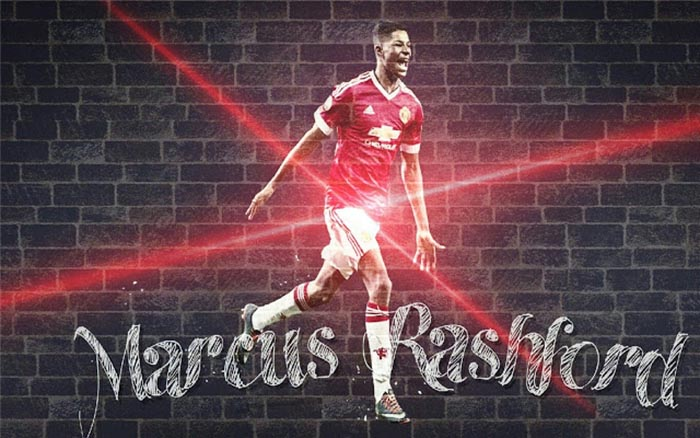 Marcus Rashford Hd Desktop Wallpapers At Manchester United Man Utd Core