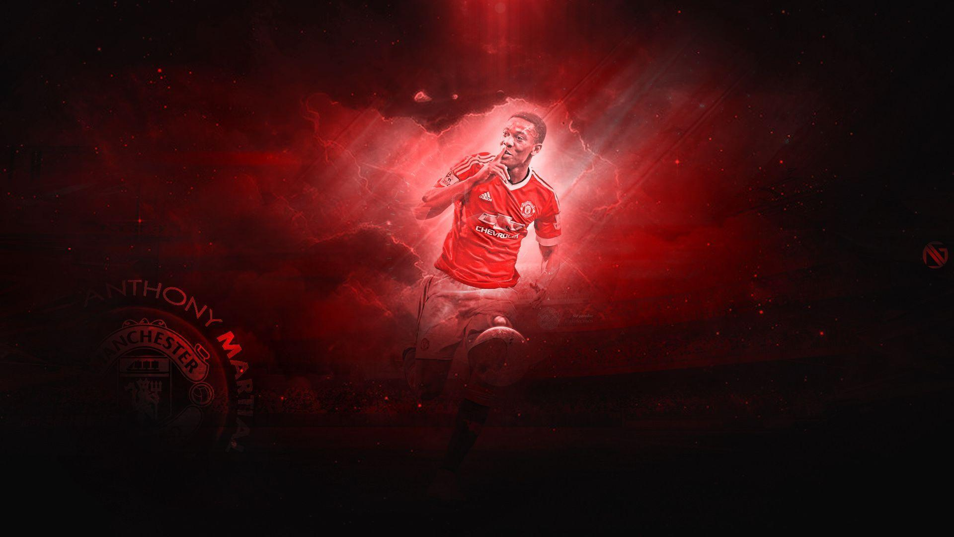Anthony Martial HD Desktop Wallpapers At Manchester United