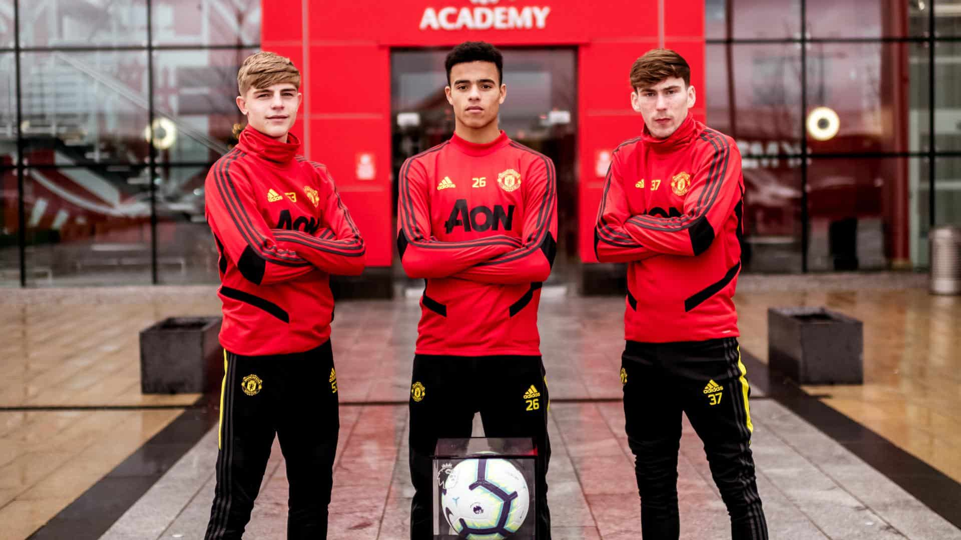 manchester united fc s academy prospects 2020 man utd core academy prospects 2020 man utd
