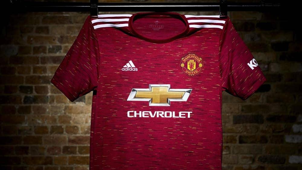 Manchester United Unveil New Home Kit For 2020 21 Season Man Utd Core