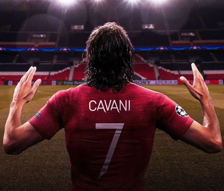 Download Manchester United Cavani Jersey